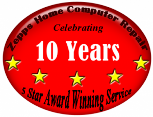 10 years of 5 star service